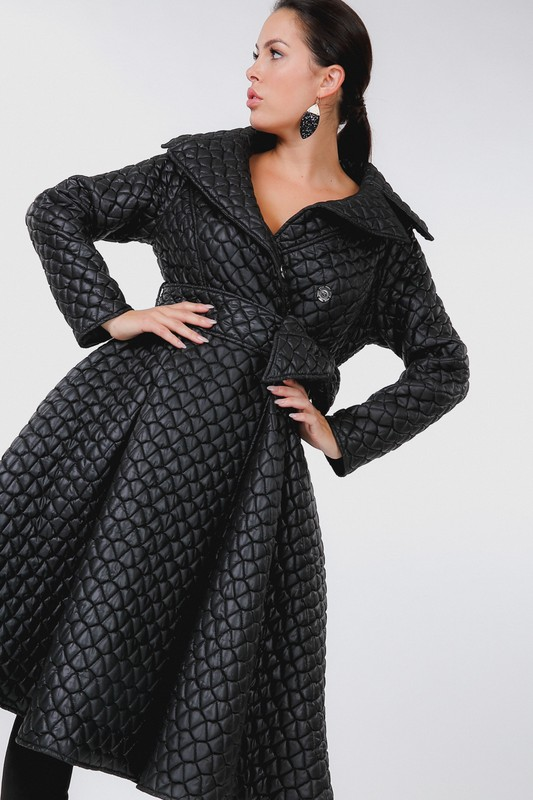 Lincoln Park Quilted Coat