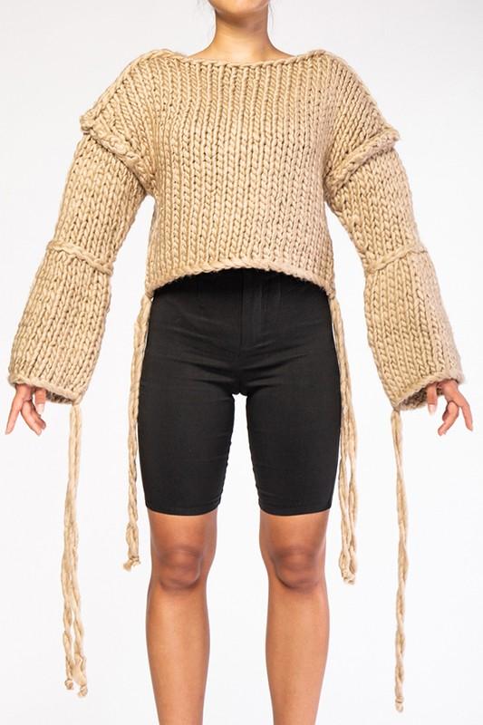 Hanging Strings Sweater